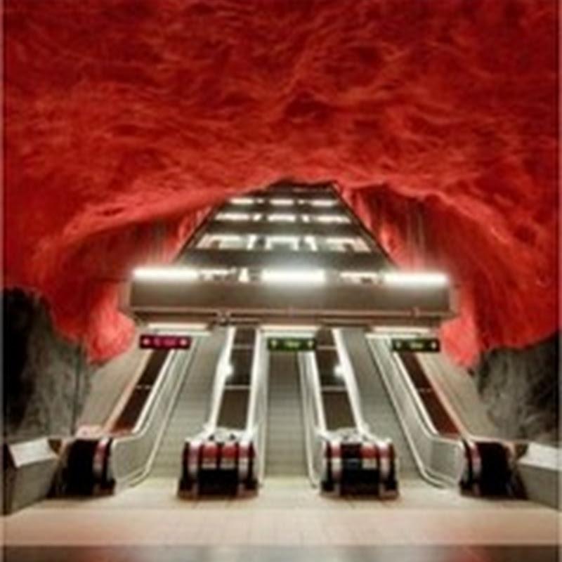 El metro más bello del mundo