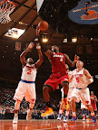 lebron james nba 130301 mia at nyk 20 LeBron Debuts Prism Xs As Miami Heat Win 13th Straight