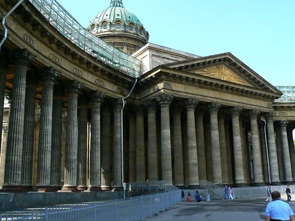 Obiective turistice Rusia: catedrala Kazan, Sankt Petersburg