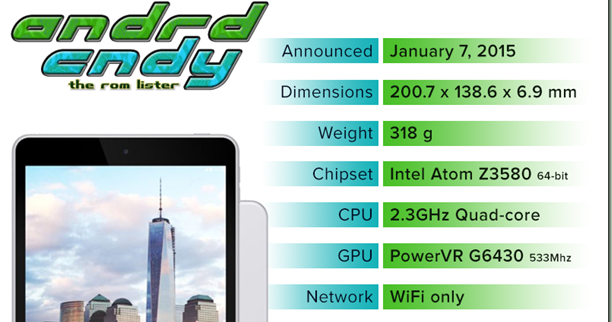 andrdcndy: Nokia N1; The first Android-powered Nokia Tablet