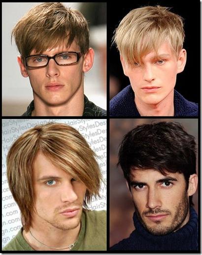 ideas de peinadops para hombres con cara alargada 2012