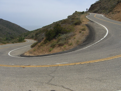 Deer Creek Rd (steep!)