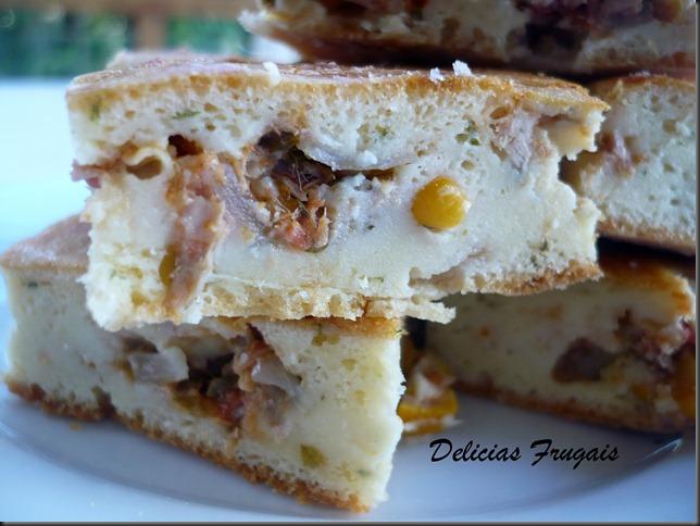 Torta de atum - Delicias Frugais