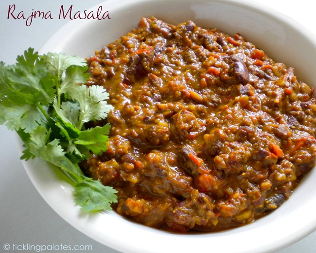 Rajma Masala / Rajma Curry | Tickling Palates