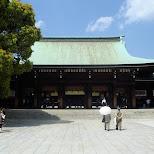 meiji shrine in Yoyogi, Tokyo, Japan