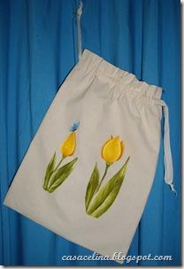 saca pao tulipa