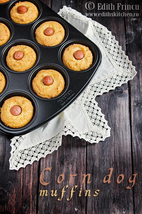 Muffins cu crenvursti