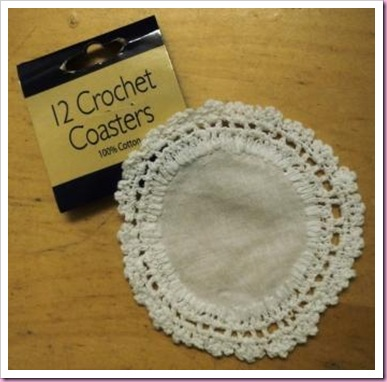 Poundland Crochet Coasters