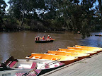 Feb 18 - Boating on the Yarra at Studley Park