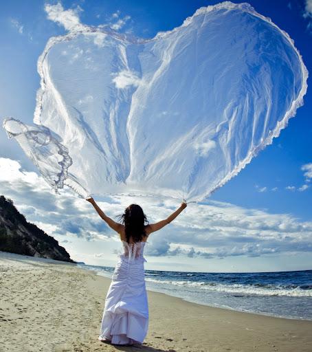 Sesja ślubna, plener na plaży w Międzywodziu