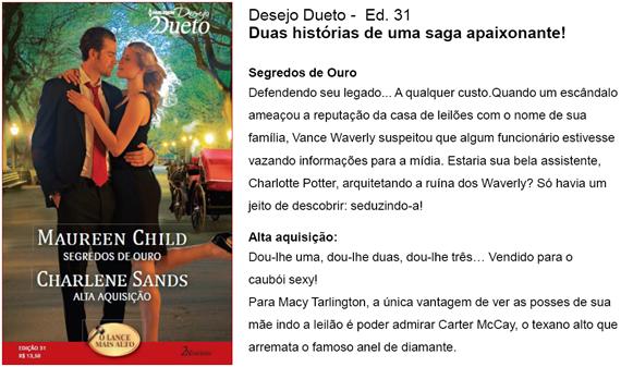 Desejo Dueto 31