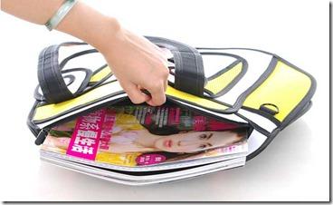 3D bag  bolsa tamanho