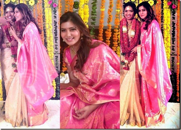 Samantha_Pink_Silk_Saree
