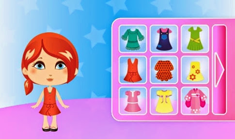 Juego Drees up Dolls