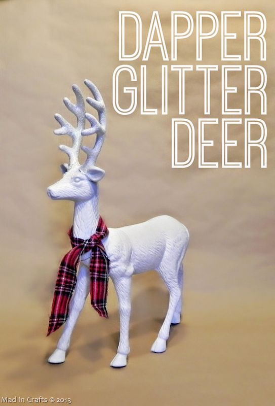 Dapper Glitter Deer