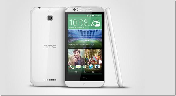 Smartphones de HTC 2014