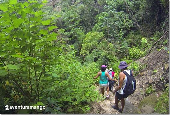 Trecho da trilha para o Encanto Azul - Riachão, MA