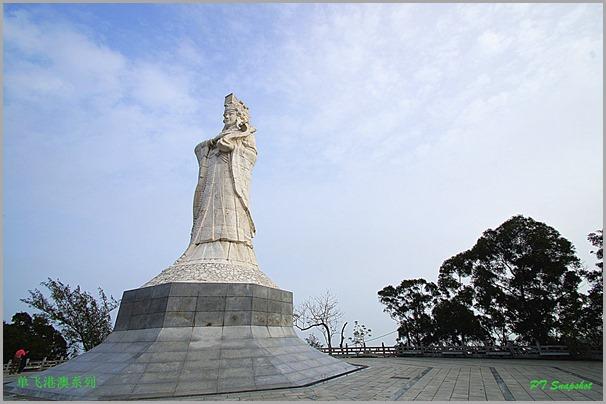 澳门白玉妈祖雕像