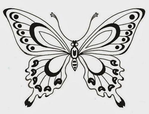 lindo desenho borboleta