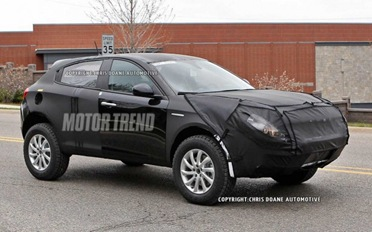 2014 Jeep Liberty Prototype With Possible Turbo Engine