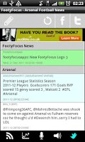 Screenshot of Man City Football News