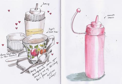 Tea sketch