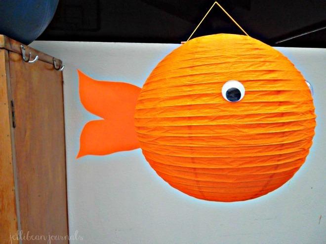 paper lantern goldfish diy