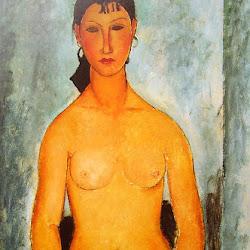 Modigliani, Standing Nude (Elvira) 1918