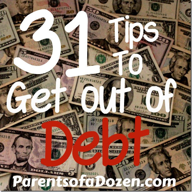 how to become debt free with little money