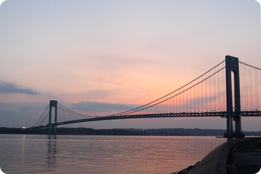 Verrazano Bridge at Sunset edited