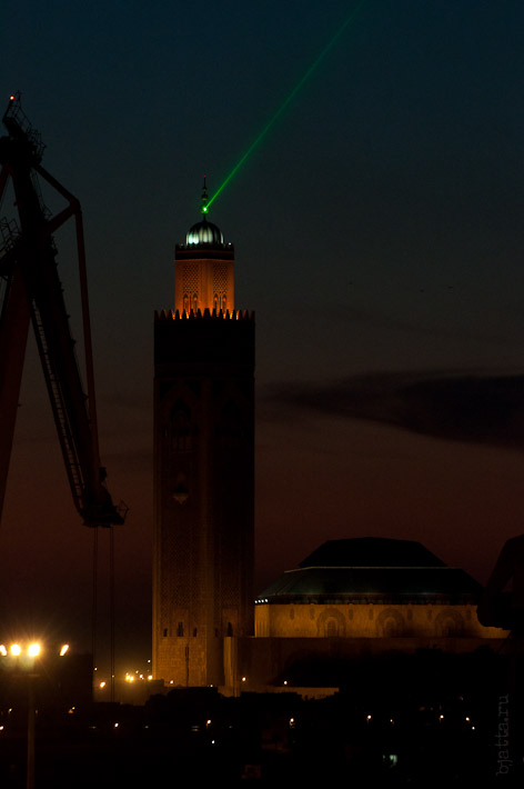 Третий день. Casablanca. Morocco. Круиз. Costa Concordia. Мечеть Хасана II.
