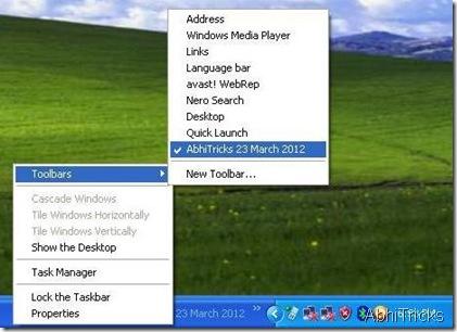 Remove Toolbar