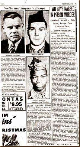 STEWART_Hobart_newspaper article re murder_page 9_18 Dec 1936_ClevelandPain Dealer_Cleveland Ohio_cropped