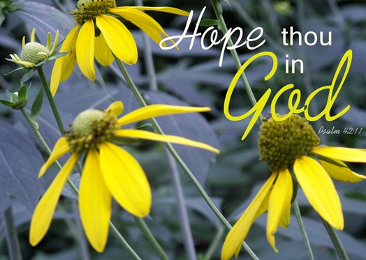 Hope thou in God 5x7 jpg