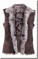 Celtic and Co Shearling Gilet