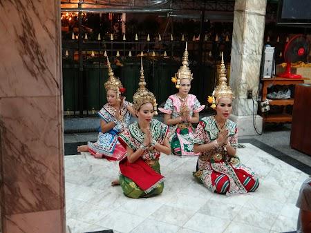 Gratis Bangkok: Dansatoare thailandeze