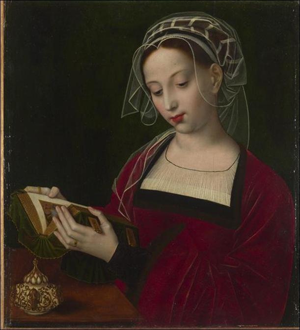 Ambrosius Benson, Jeune femme lisant