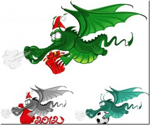new-year-dragon-2012-vector-336x280