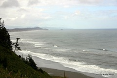"Looking toward Port Orford from Cape Blanco ""Look out"""