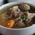 Ox feet soup
