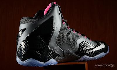 nike lebron 11 gr carbon fiber pink 6 06 Release Reminder: Nike LeBron XI (11) Miami Nights