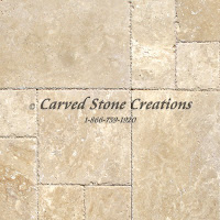 Paver - Std. Versailles Pattern Travertine Set Tuscany Beige 3cm