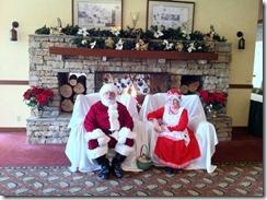 Santa, Mrs. Claus