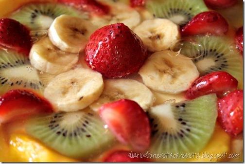crostata frutta  e ricotta dettaglio