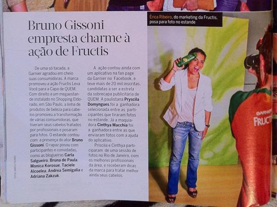 Revista Quem - Garnier - 2