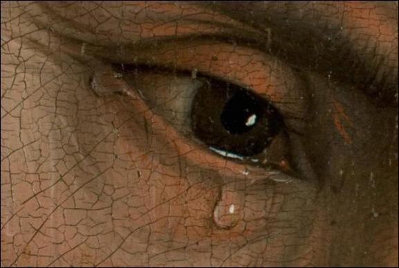 Van der Weyden , Détail de Déposition de croix