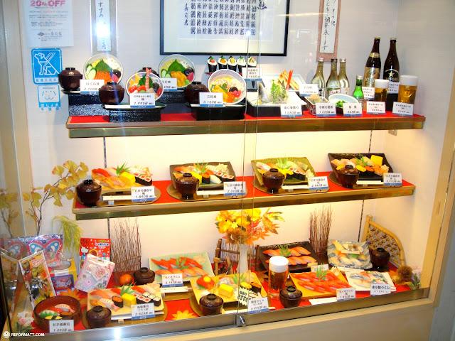 sushi restaurant in tokyo in Narita, Tokyo, Japan