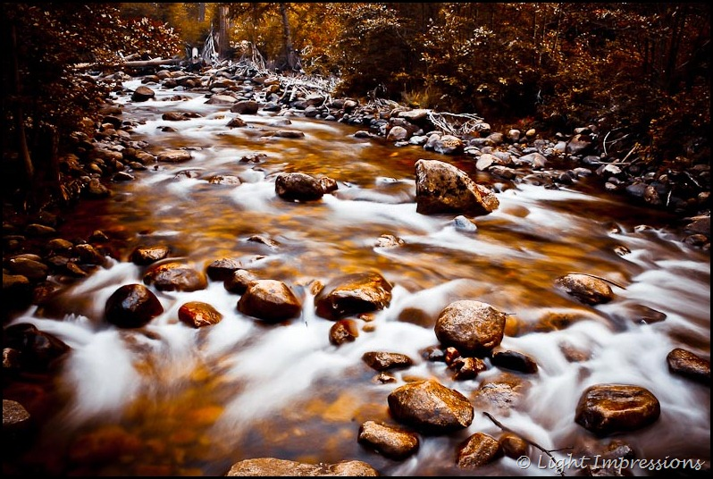 Light Impressions-Yosemite Creek in Autumn
