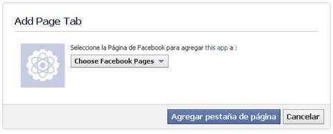 agregar page tab