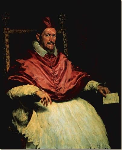 Velasquez, Le pape Innocent  X